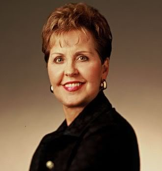 Joyce Meyer Televangelist speaks of being grounded in What Is Real.