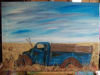 http://aprettytalent.blogspot.co.za/2015/09/oil-painting-of-abandoned-car-wreck.html