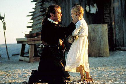 the patriot | The Patriot (movie) Benjamin Martin (Mel Gibson) bids a tearful ...