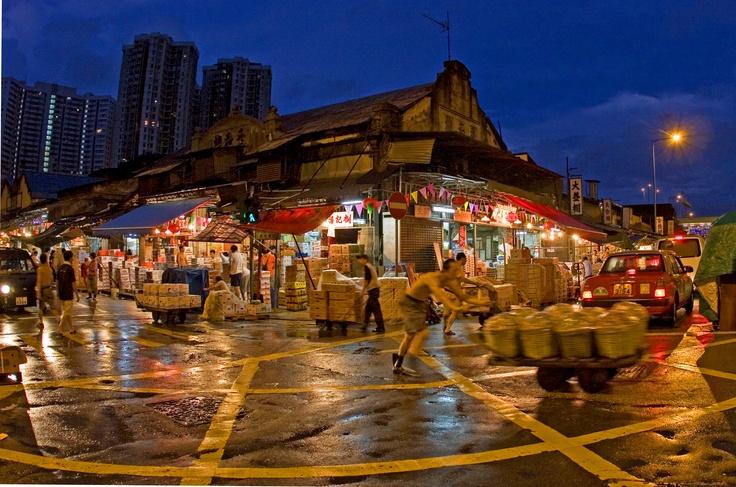 Yau Ma Tei Wholesale Fruit Market Right next to CHI 279 & CHI 393   Walking tour. Yau ma tei. Hong kong