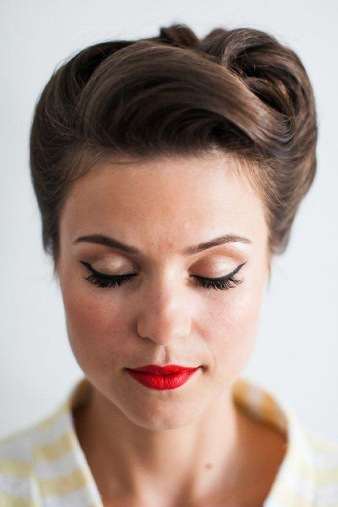 Bridesmaids Hairstyle Inspiration 50er Jahre Frisur Vintage Hochzeit Frisuren Vintage Frisuren