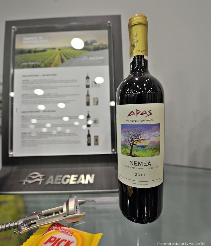 AEGEAN Wine List The producers behind the labels: Aras 2011, Ieropoulos Family Winery Dry red Wine   The labels listed below represent a selection  of the standout wines produced in Greece today and will be offered to AEGEAN  passengers and Aegean Business Lounge patrons until the end of March 2016.  by Konstantinos Lazarakis M.W. (Master of Wine)  Άρας 2011,