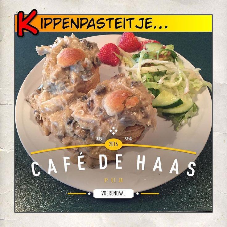 En alweer héérlijk gegeten bij Café de Haas. De ragout is heerlijk vol en romig van smaak. Alweer zo'n topper van een gerecht!!!