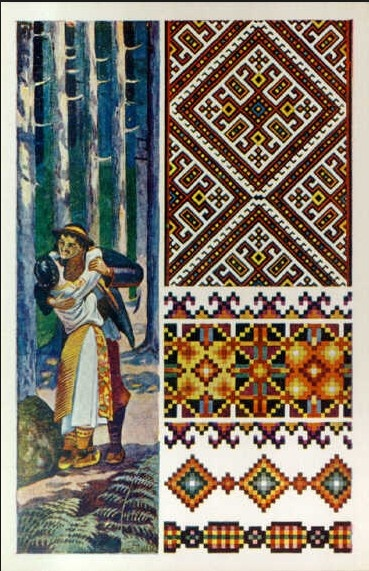 Ukrainian old postcard, from Iryna with love