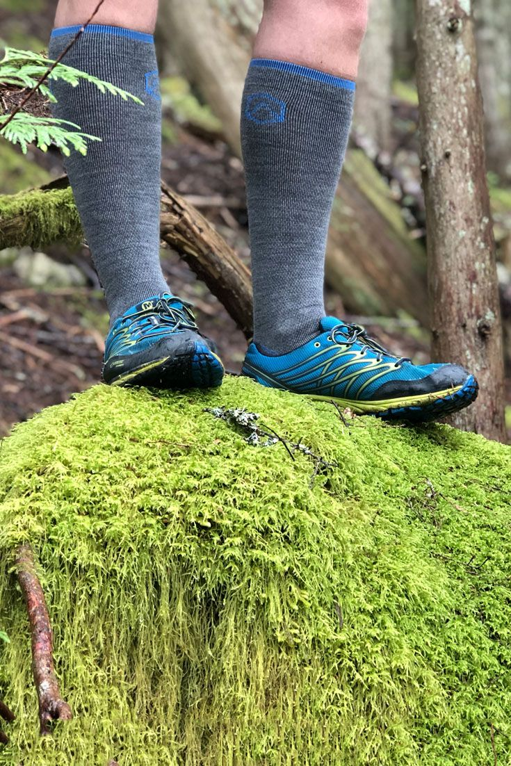 6d099204ec443 CloudLine compression socks offer the perfect blend of compression and  comfort for your next hike or trail run. #hiking #trailrunning # compressionsocks ...