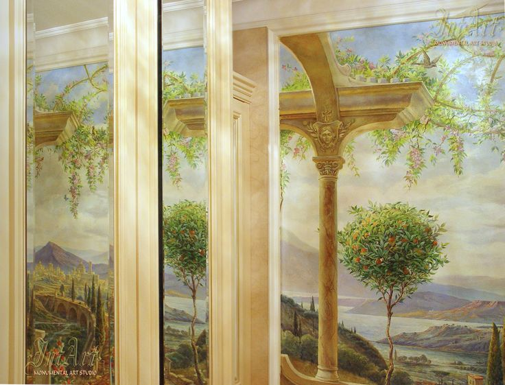 #murals #painting #intart #роспись_стен #роспись #Заказать_Роспись #Dmitry_Kostylew #Дмитрий_Костылев