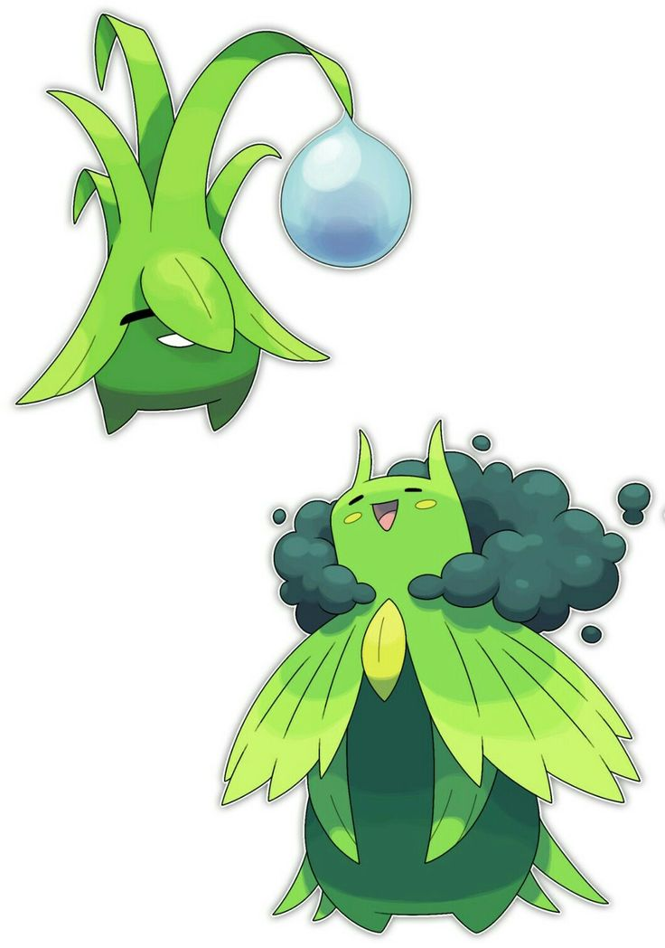 Fakemon Dororu Grass And Kyogame Grass Water
