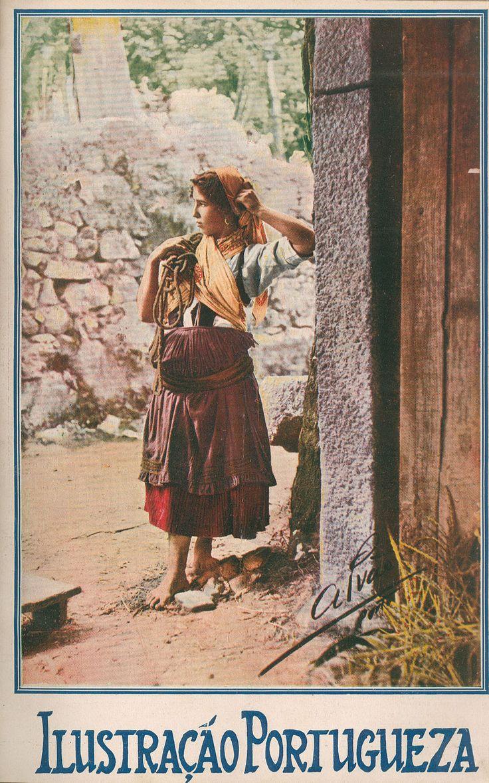 1922 - Ilustração Portuguesa  Minho girl, Portugal