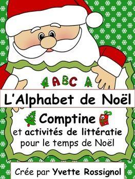 Comptine, jeux, écriture, petit livre, mathématiques, cartes à trous...Joyeux Noël!