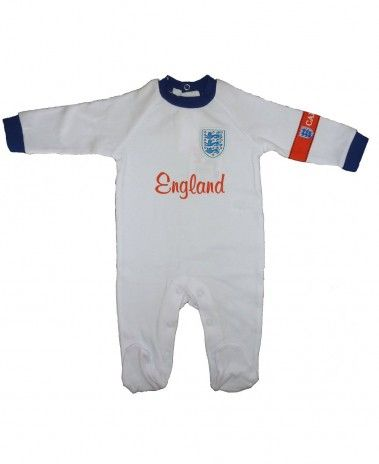 We're hoping #England don't send the little ones to sleep in the World Cup 2014! Baby Sleepsuit from 0-18m. £11.99 #ComeOnEngland
