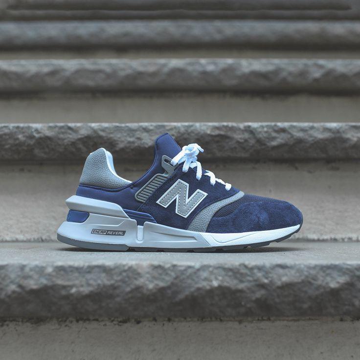 New Balance 997 Sport Navy / Grey / White Kith New