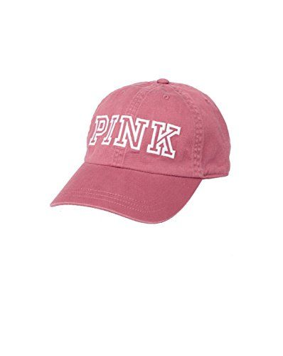 Victoria's Secret PINK Women's Baseball Hat Soft Begonia…