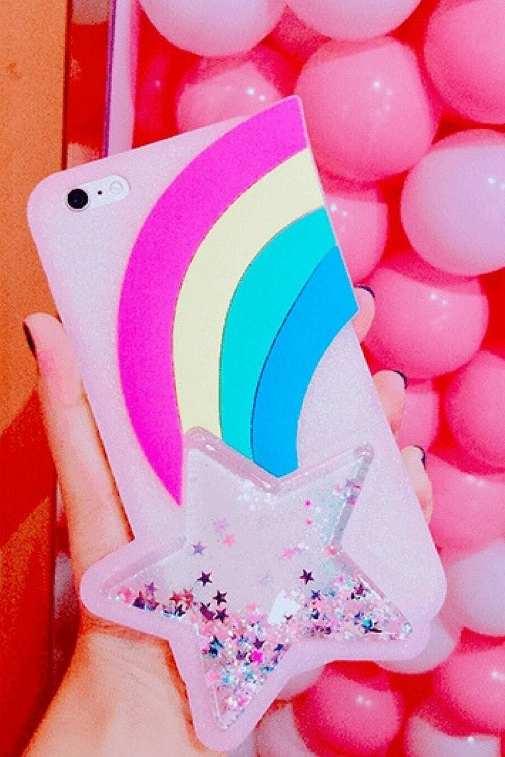 Rainbow iphone 6, iphone 6 plus, iphone 7 & iphone 7 plus protective Case For cute girls