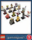 LEGO SERIES 3 -8803 - COMPLETE SET - minifigures (x16) BRAND NEW!