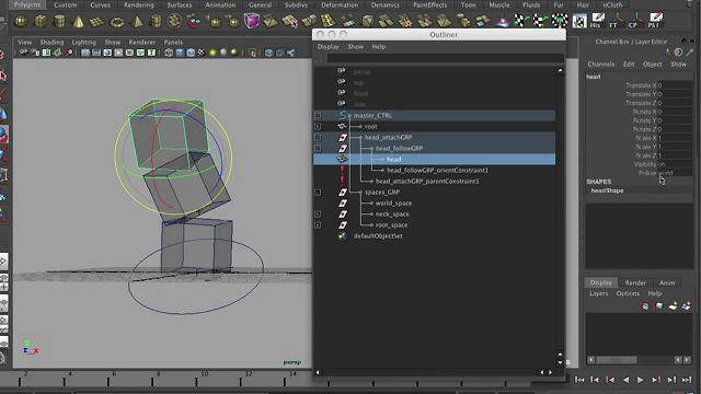 Maya/Rigging: The basics of space switching de zeth willie
