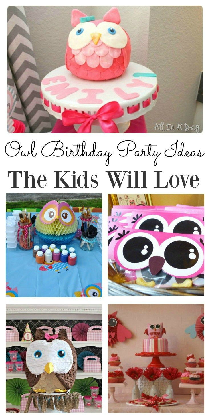 Ruby s rainbow room inspiration for kids bedroom decor at huggies - Popular Owl Birthday Party Ideas The Kids Will Love