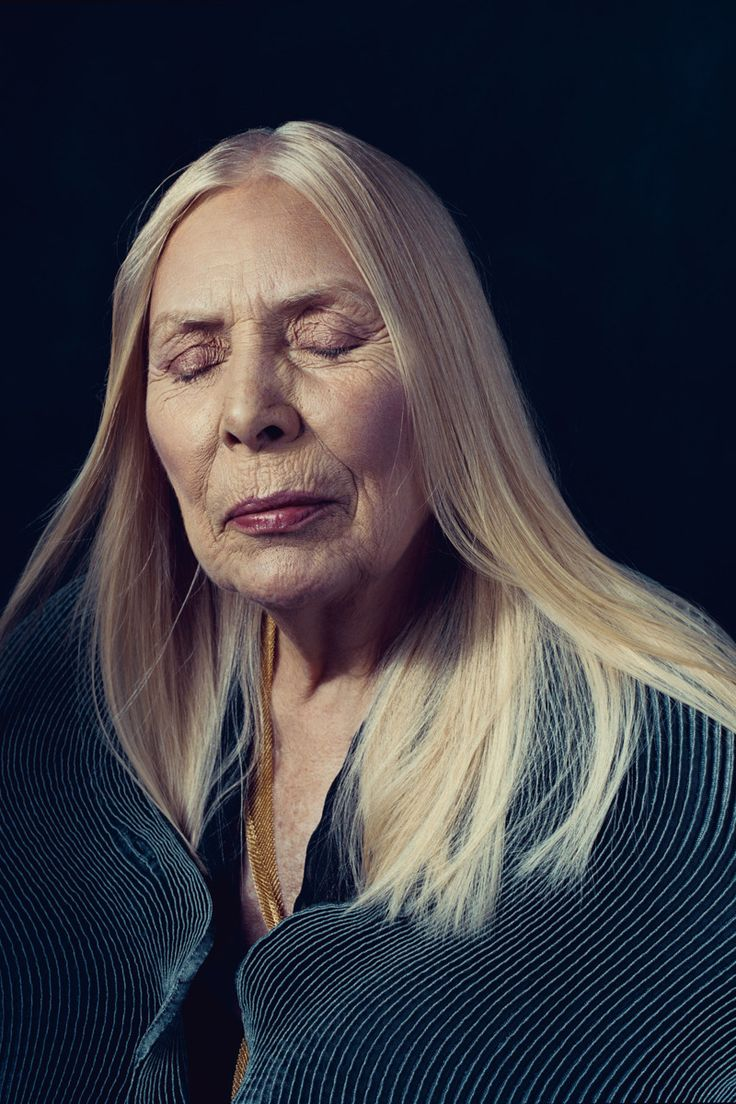 Joni Mitchell By Norman Jean Roy