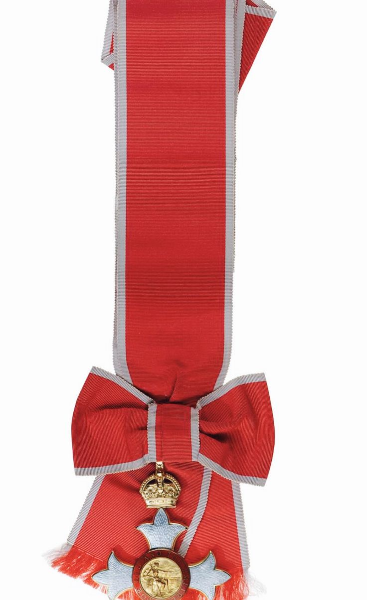 Order of the British Empire Dame Grand Cross Sash