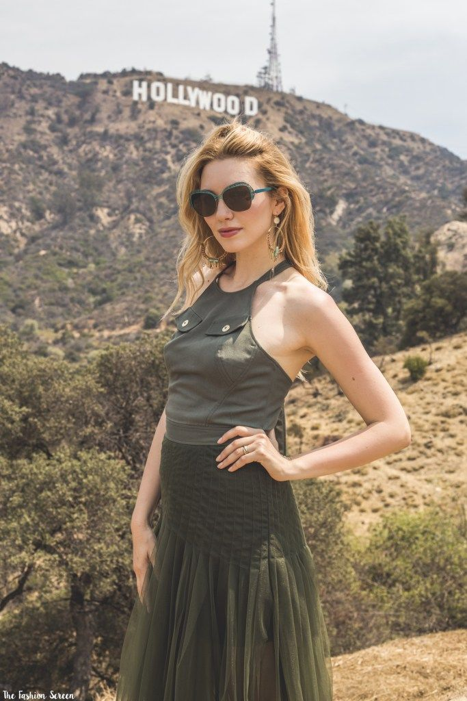 Military Chic on the Hollywood Hills - #VANNI and The Fashion Screen