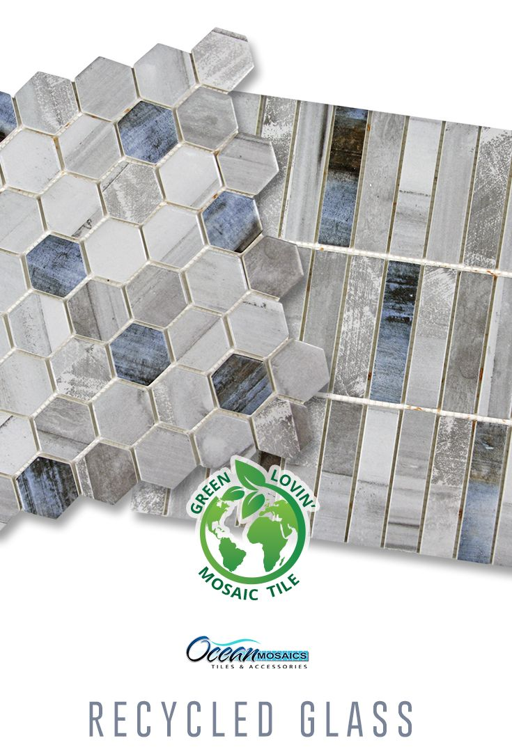 - Sixcycle Recycled Glass Tile & Ninecycle Recycled Glass Tile - A