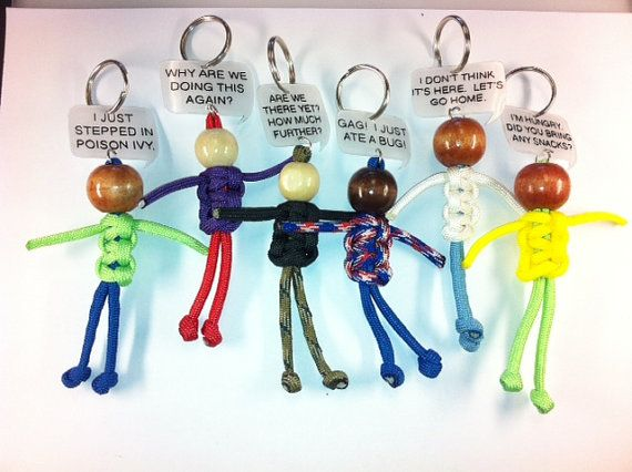 Paracord Whiner Buddies Geocache Swag Trackables by SwagTags, $25.00