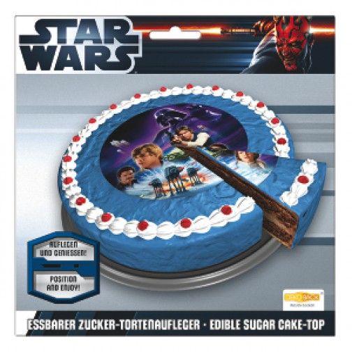 Zucker Tortenaufleger Star Wars 16cm