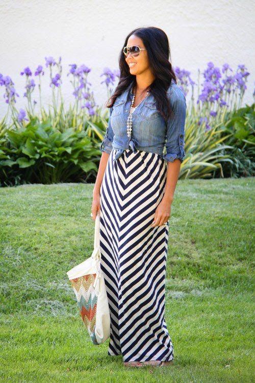 3 Ways to Wear a Maxi Dress in Fall | Women's Health Magazine