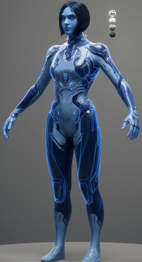 COSPLAYING INFO: HALO videogame sexy bodypaint cosplay