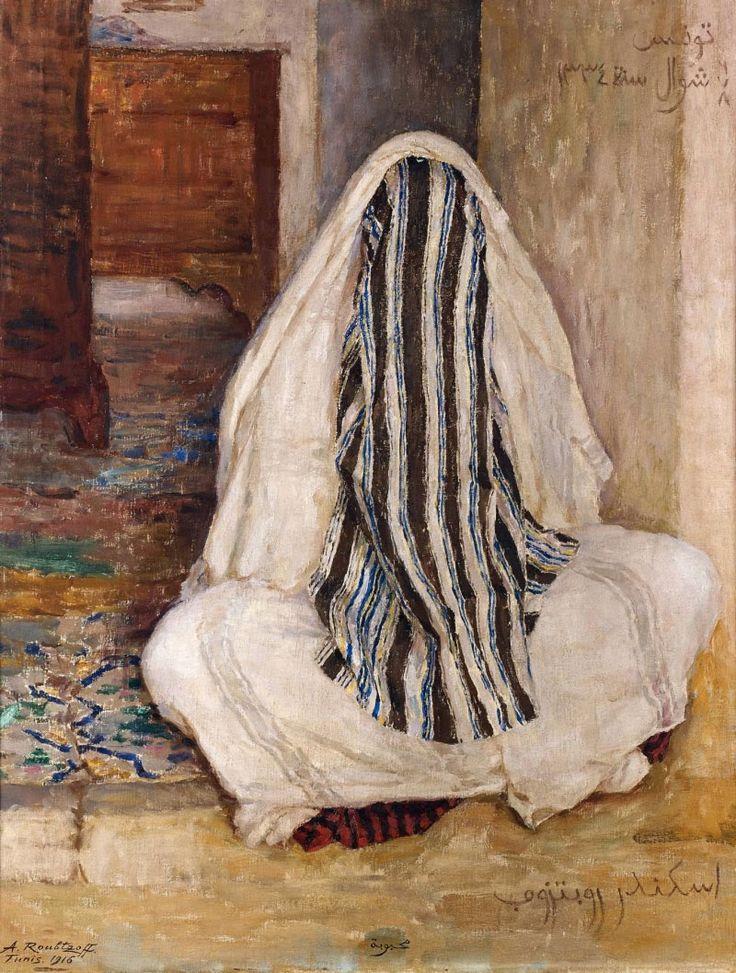 Alexandre Roubtzoff (1884-1949), Mahbouba