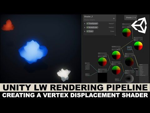 Unity3d Graphics with Unity3d LWRP and creating a vertex
