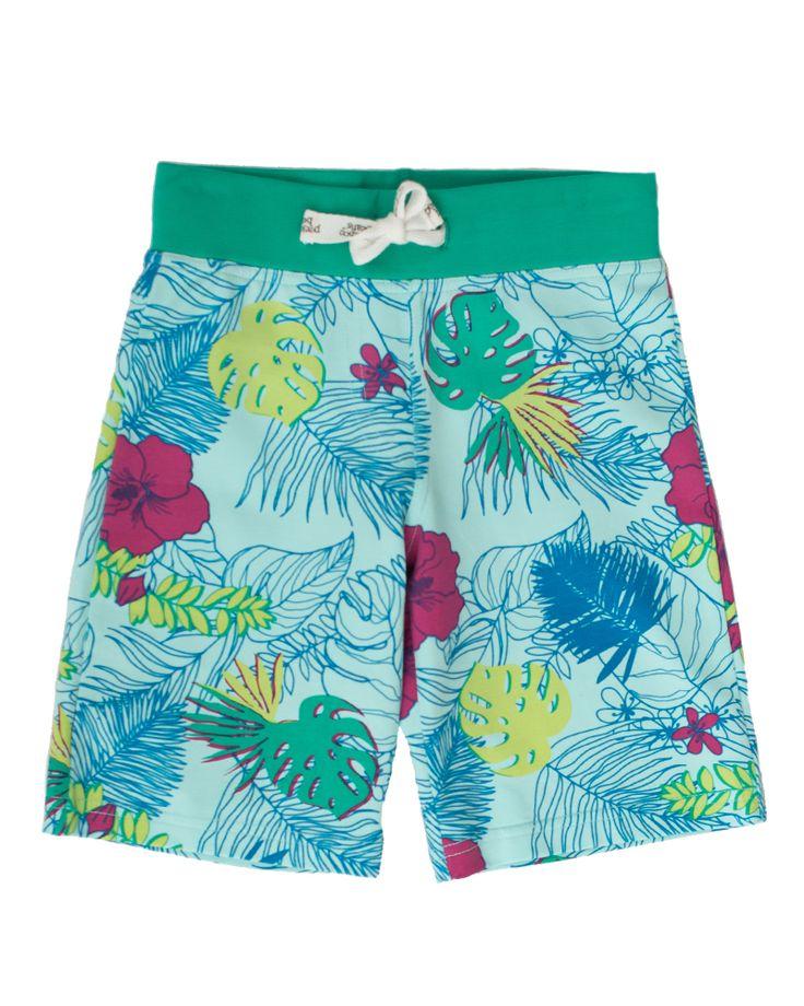 Peekaboo Beans - Island Vibes Shorts - Paradise Print