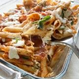 13 Skinny Meals Under 300 Calories | Slow Cooker Pepperoni & Chicken, 3-Cheese Penne, Mexican Tortilla Casserole, Lasagna Rolls, Cheeseburger Casserole, Cheeseburger Pie, Spaghetti Squash with Meat Sauce, Taco Stuffed Peppers, Spaghetti Squash Tacos, Italian Beef & Peppers, Sausage Zucchini Boats, Chicken Fried Rice, and Philly Cheese Turkey Sloppy Joes