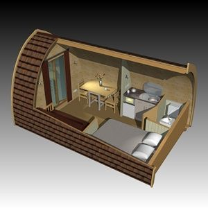 Upwood Holiday Park > CAMPING PODS