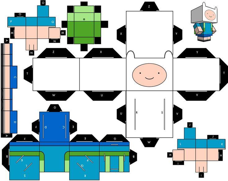 67 best cubecraft y papercraft images on pinterest paper toys hello kitty papercraft at duckycandys altavistaventures Choice Image