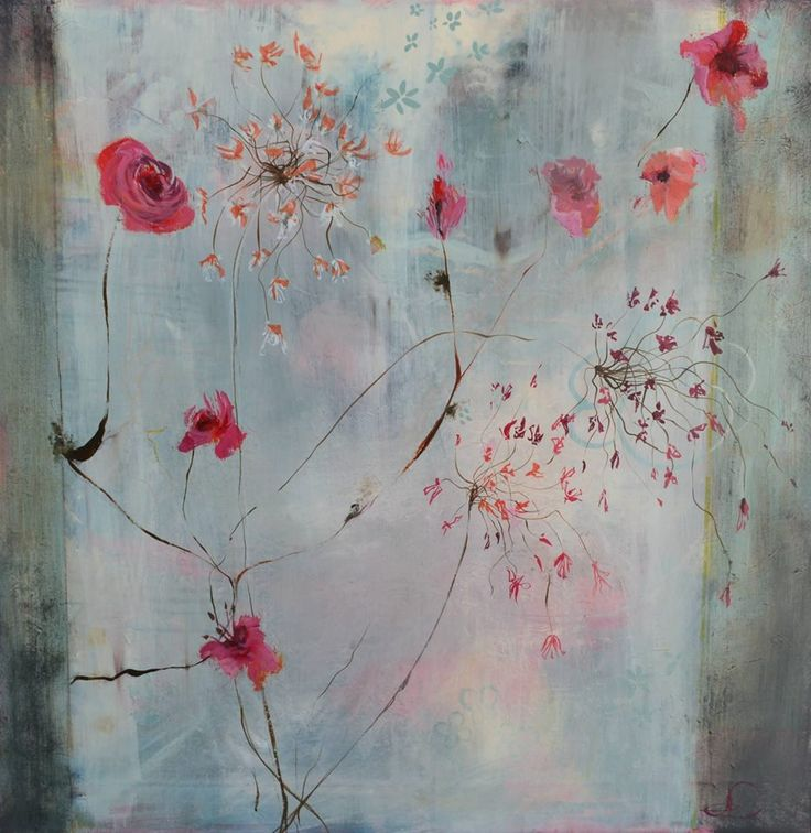"""Patina 1"" 80X80 cm. Acrylic on canvas. Made by Naja Duarte"