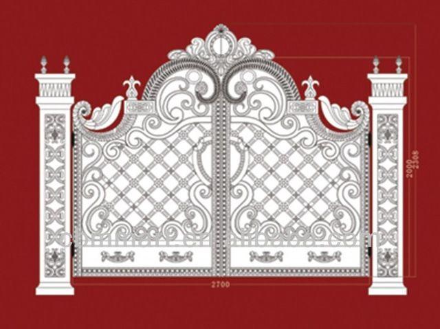 Look what I found Via Alibaba.com App: - house iron gate design gates and fence design