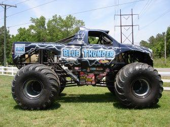 """Matthew's #1 request: """"a real monster truck"""""""