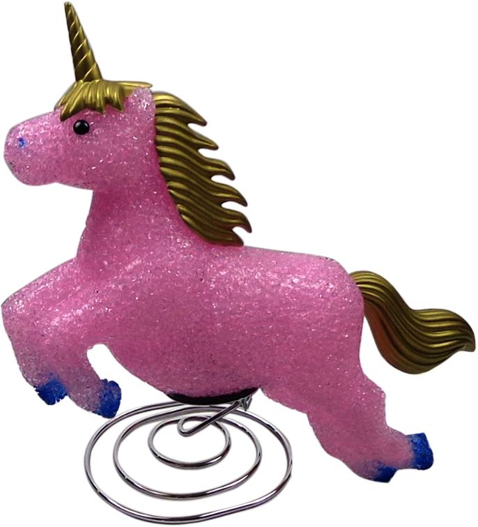 Pink Unicorn Light - Children's Bedroom Lamp Nursery Night Light Prev Stop Play Next This gorgeous pink unicorn night lamp is a great way to add fun, character and comfort to a child's bedroom. The soft 6 watt bulb emits a gentle light, creating a soothing bedtime atmosphere. Made from soft EVA material on an attractive chrome wire base. Includes a power adaptor, bulb, instructions and comes packaged in a clear display box. Safety Note This is an electrical product, not a toy! Please follow…