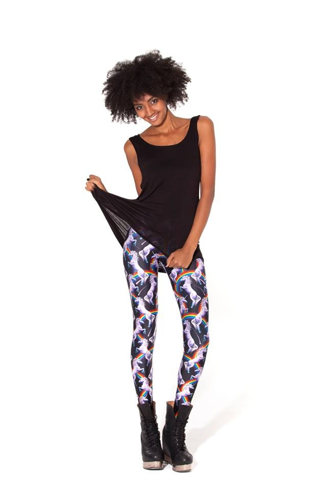 Attack of the Unicorn Leggings (Made to Order) by Black Milk Clothing