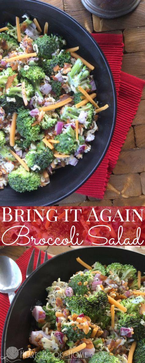 Bring It Again Broccoli Salad Recipe Broccoli Salads Ramen And
