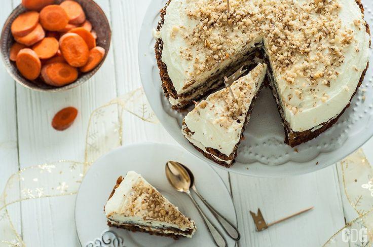Świąteczne Ciasto Marchewkowe | Chrismas Carrot Cake