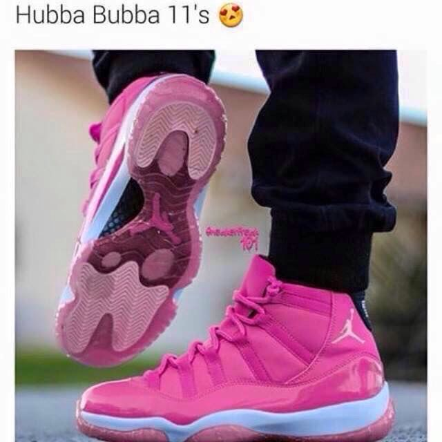 @TrinaTrill: Hubba Bubba 11s✨ boi if these ever drop Ima be fighting females for these shoes