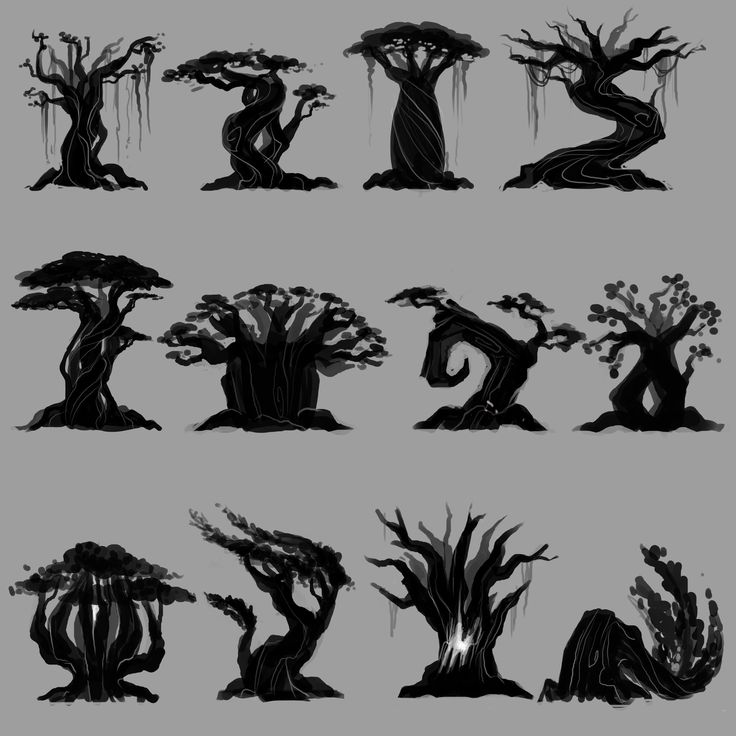 ArtStation - Nightmare tree, Paola Martinez Caballero