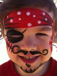 Maquillage enfant pirate