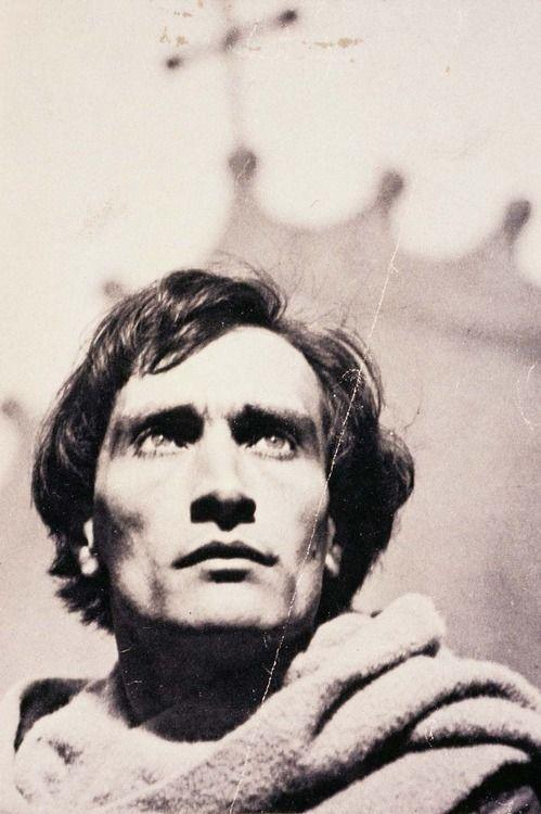 """Antonin Artaud dans """"La Passion de Jeanne d'Arc"""" de Dreyer (1927)"""