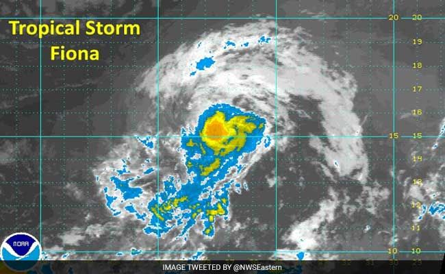 MIAMI, UNITED STATES, Aug 18 - Tropical Storm Fiona formed Wednesday afternoon in the middle of the tropical Atlantic Ocean, but forecasters said it poses no threat to coastal areas.  The season's sixth tropical storm is moving northwest at around 16 miles per hour (26 kilometers per hour) with maximum sustained winds of 40 miles per hour, the Miami-based National Hurricane Center (NHC) said.  Located some 920 miles west of Cape Verde, the storm represents no threat to land, the NHC added…