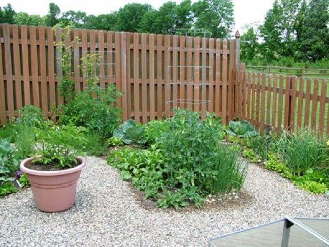 Eco Friendly Garden Fences Ideas Gravels Yard Blooming