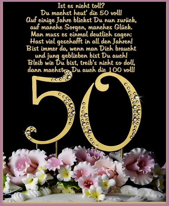 Geburtstag mama 50 spruche
