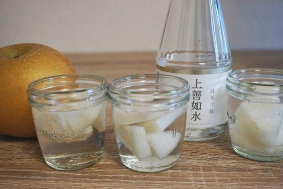 【人生が幸福に】超絶ウマいと話題沸騰中の『梨の日本酒サングリア』を作ってみた / 飲まないと絶対に後悔する「極楽の味」だった!