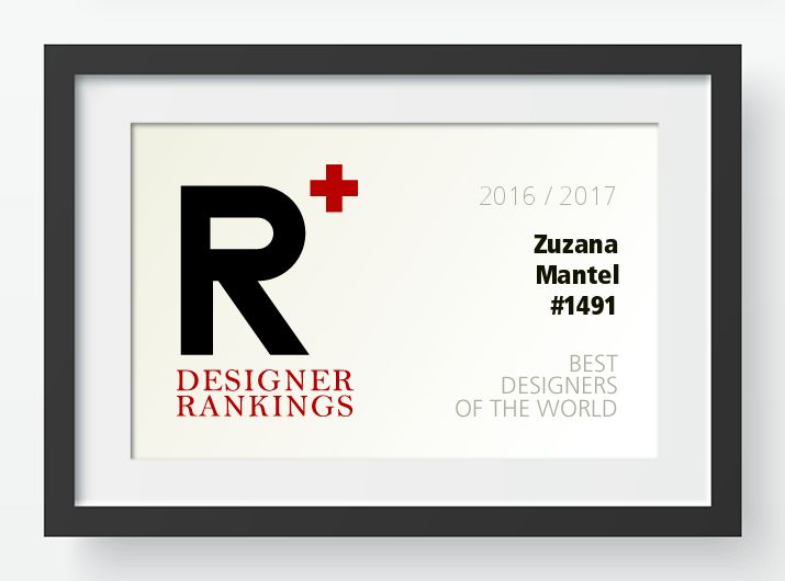 A' Design Award and Competition - dipl. Ing Zuzana Mantel Designer Ranking Standing